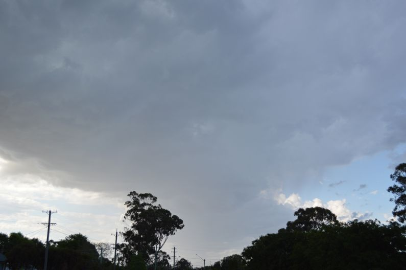 First storms for summer season 2020/21 - 12 and 15 October Western Sydney