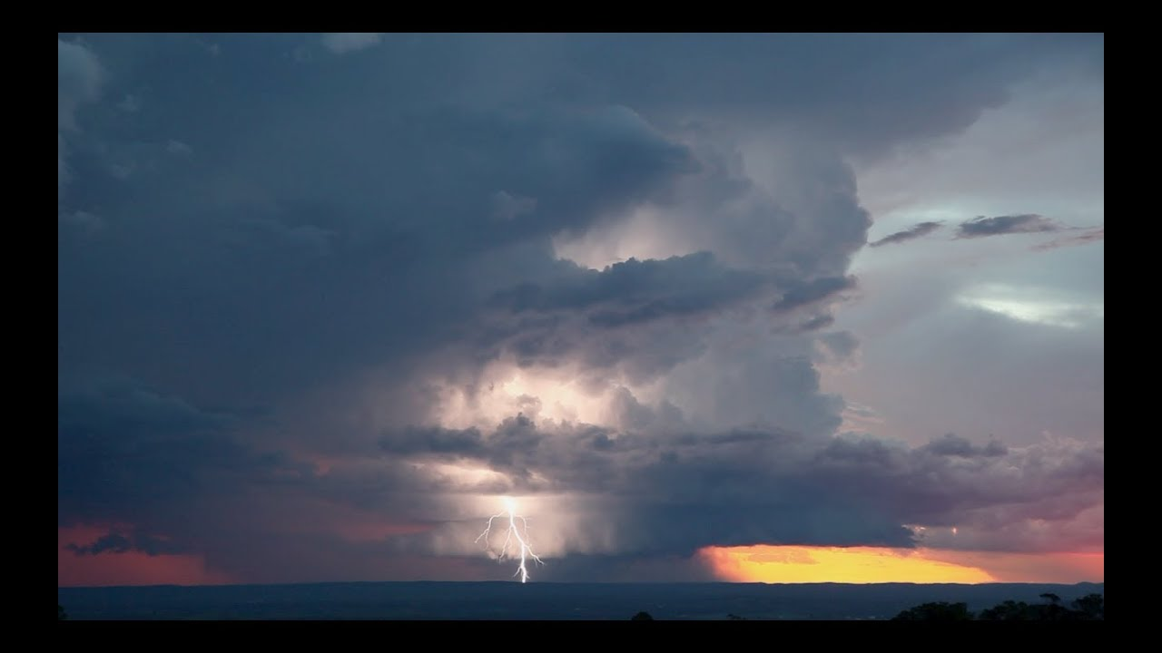 Incredible Classic Supercell Structure near Sydney Australia 22nd March 2014