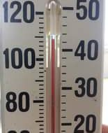 Maximum temperature reached  this is a cheap thermometer with very slow reaction...