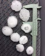 Sydney #hail #Hailstorm 5cm in diameter Rouse Hill  did not see it falling - my ...