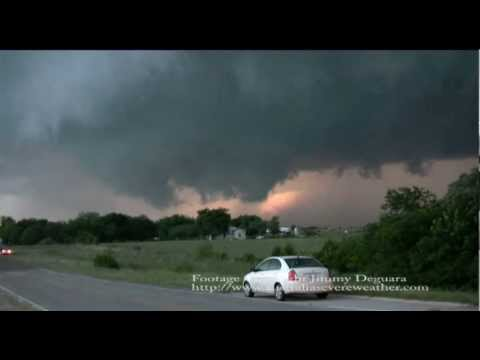 Tornado May 19 2010 near Pauls Valley Oklahoma