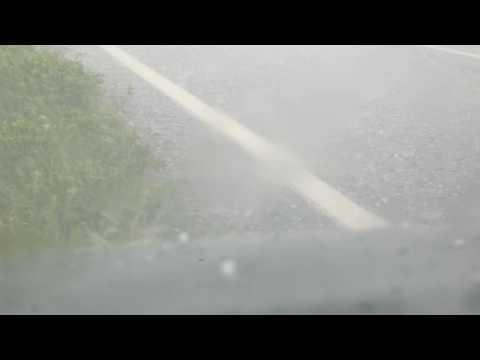 Hail dump Mendooran 28th October 2016