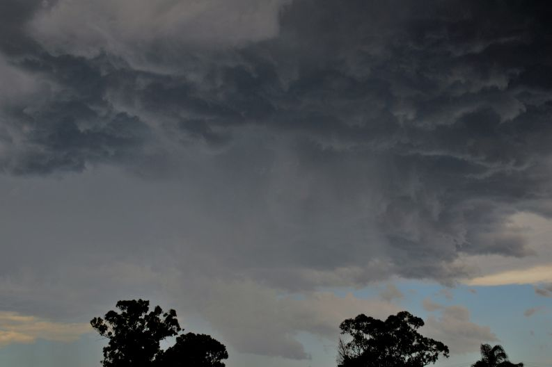 Afternoon storms Western Sydney 20 November 2020