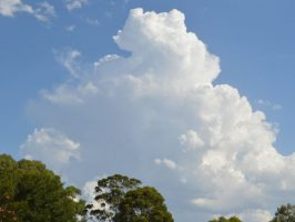 Low intensity heatwave ends with storms 11 to 15 January 2021.
