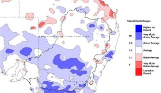Rain event - South East Australia 12 to 14 February 2021