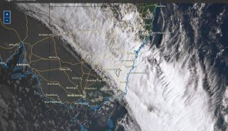 Strong Cold Front - Southern Australia - 14 March 2021