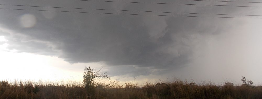 18/9/12 Colin on storms from kurrajong to south maroota 2