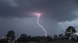 Liverpool Thunderstorm 9 November 2011