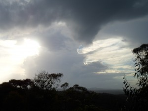Storms over Bilpin, Yarramundi and Castlereagh on 8/4/12