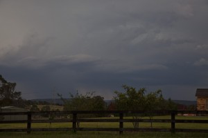 Storms NSW 23 December 2012