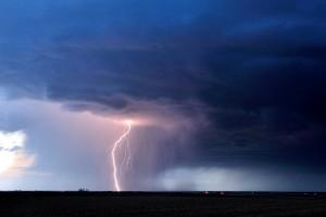 Hailstorm near Lexington Nebraska 21 April 2013
