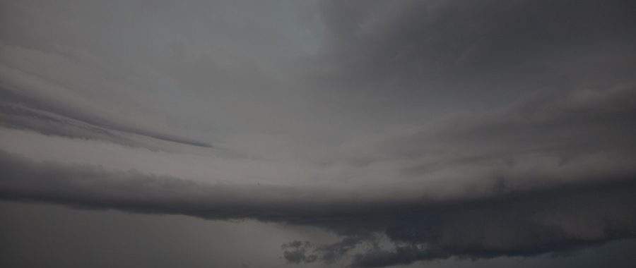Supercell explodes west of Casino 15th December 2013 1
