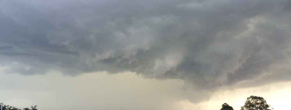 Base Rotation and Hook Echo on Radar 25th August 2014 2