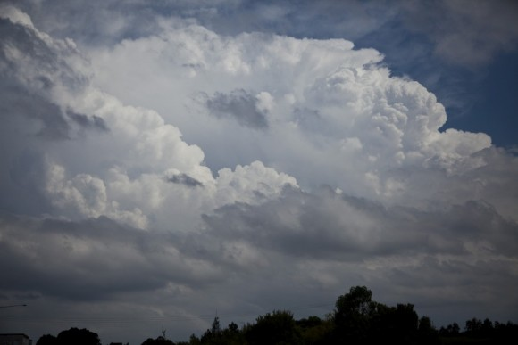 This storm near Campbelltown eventually died near Liverppol