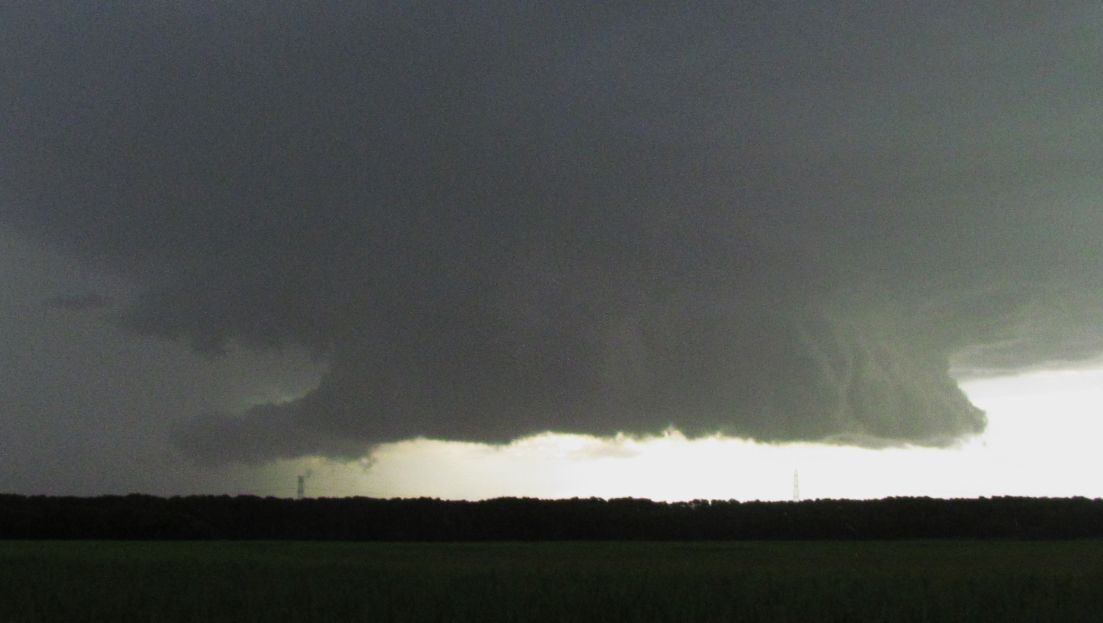 The Maitland storm and storm chase of 13/11/2015