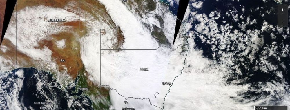 Two rain events - Eastern Australia 30 August to 3 September 2016