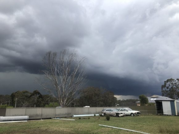 Quakers Hill and Schofields Hailstorm 26th September 2018