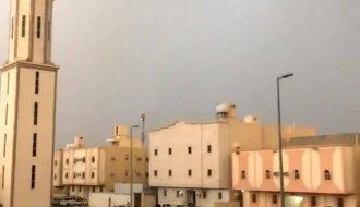 Intense Lightning Saudi Arabia