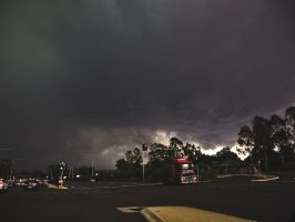Campbelltown supercell about to nail me