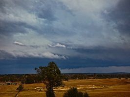 Just after the Southern Tablelands cell intensified it should interesting structure