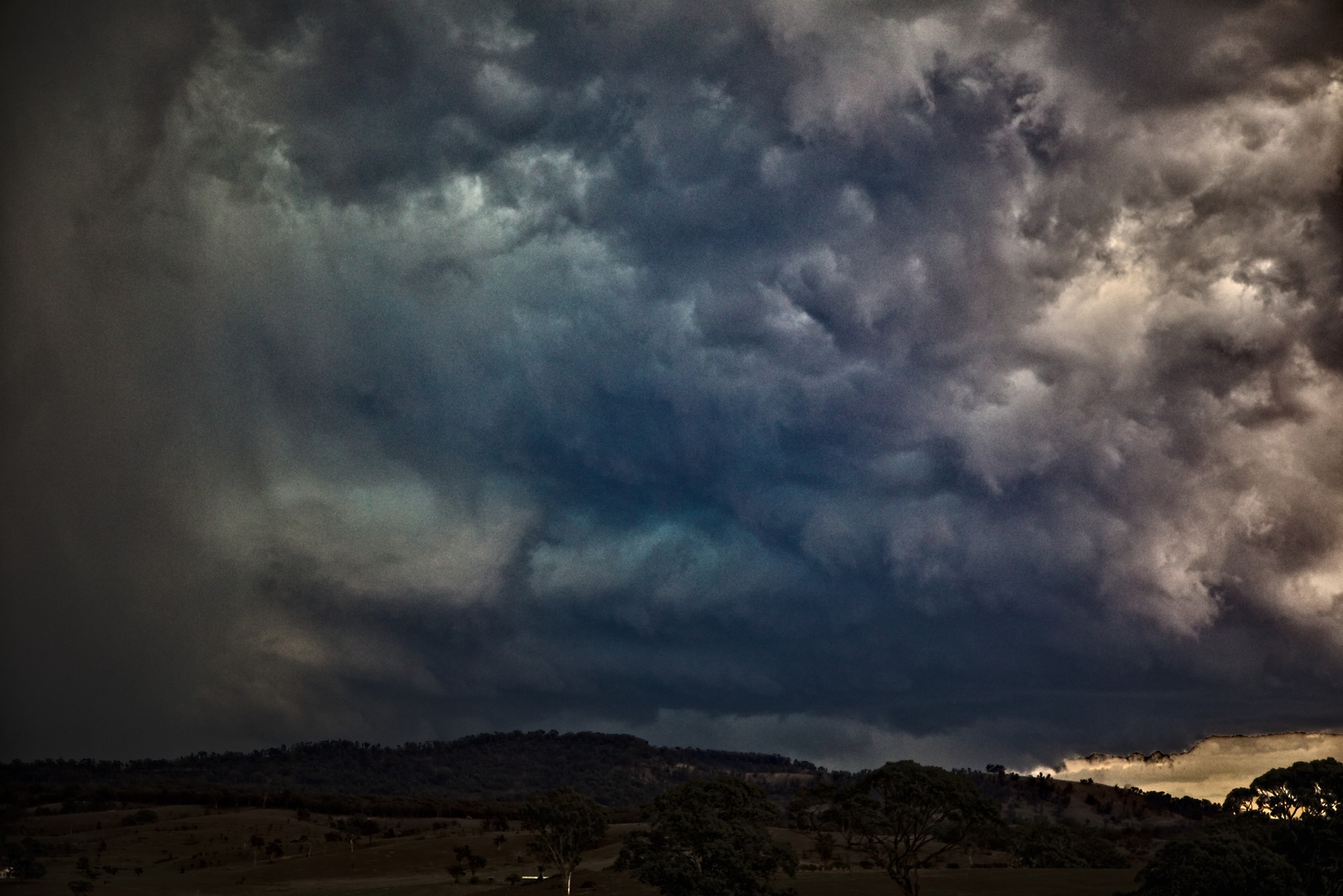 Colin Bryant and I were on a chase in February - this was the second storm possi...