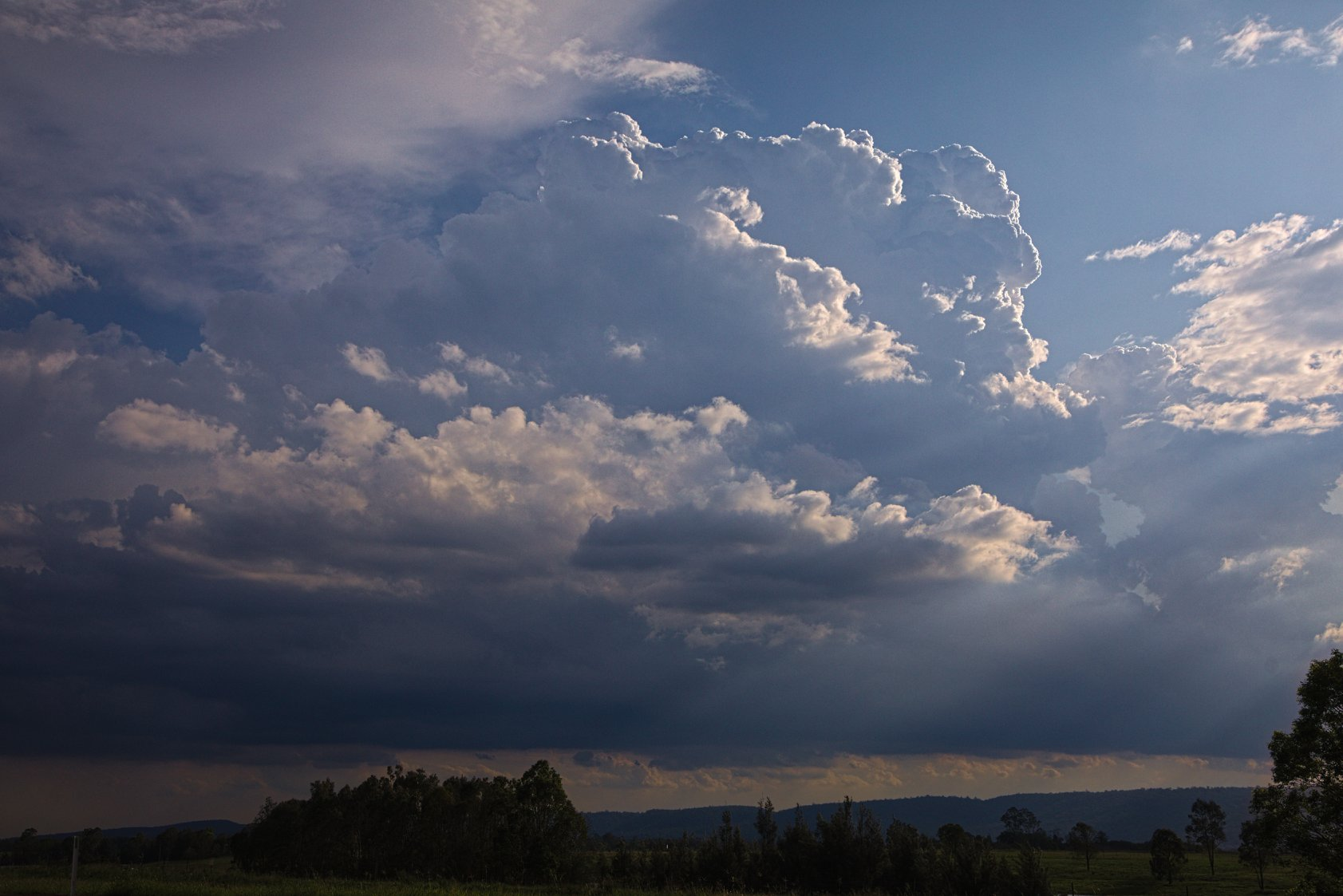 Storms 11th February 2020  After observing a boundary aligned north south near B...