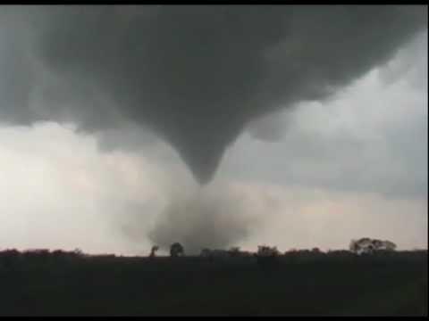 Tornado and supercell May 12 2004 Southern Kansas