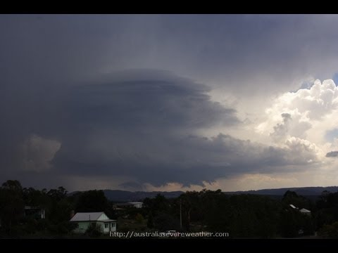 Incredible Supercell Structure 7th February 2007