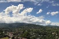 The mountain range here in Cebu probably rise to 700 metres (estimated). It's or...