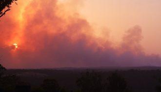 Images January 2020 Bushfires west of Sydney