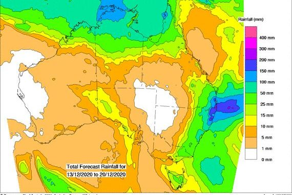 Heavy rain and flooding NE NSW and SE Qld 11 to 14 December 2020