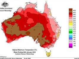 Heatwave Conditions SE Australia - 22-26 January 2021