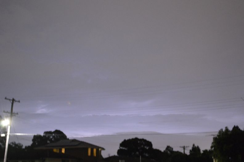 Squall line storm event New South Wales and Sydney - 1 February 2021